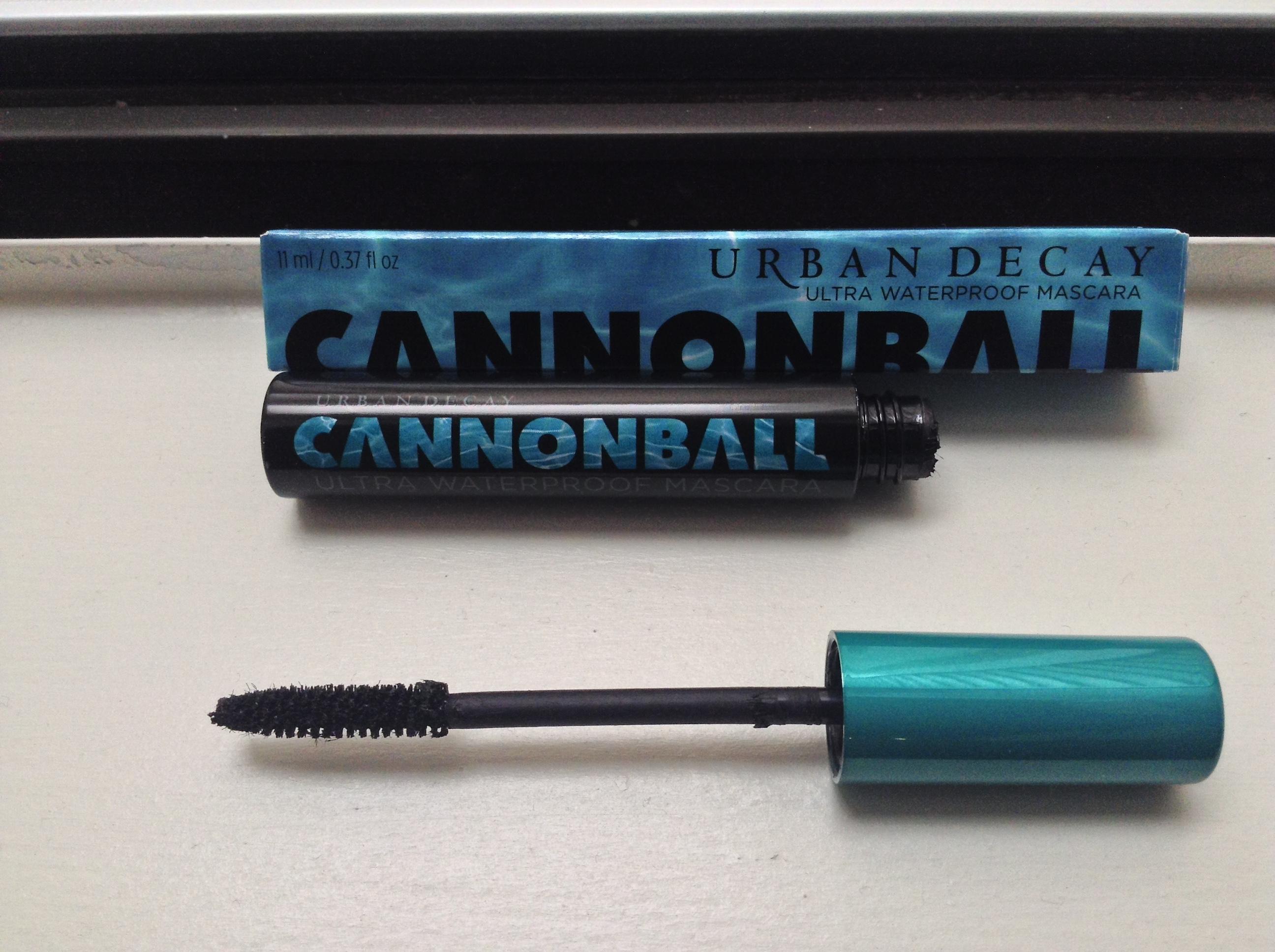 baa6703b218 Waterproof Mascara: I'm Trying Urban Decay 'Cannonball' Mascara ...